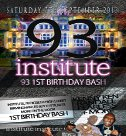 back to 93 1st birthday party
